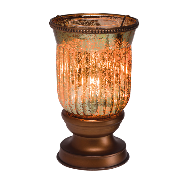 amber fluted shade