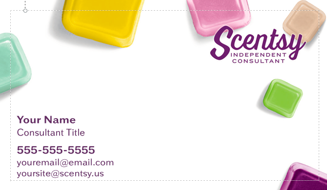 Scentsy Business Cards -