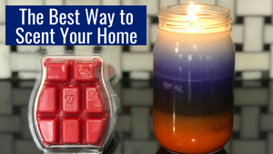 wax melts vs candles