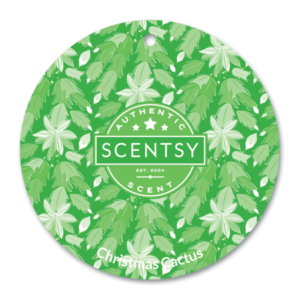 Christmas Cactus Scentsy Scent Circle