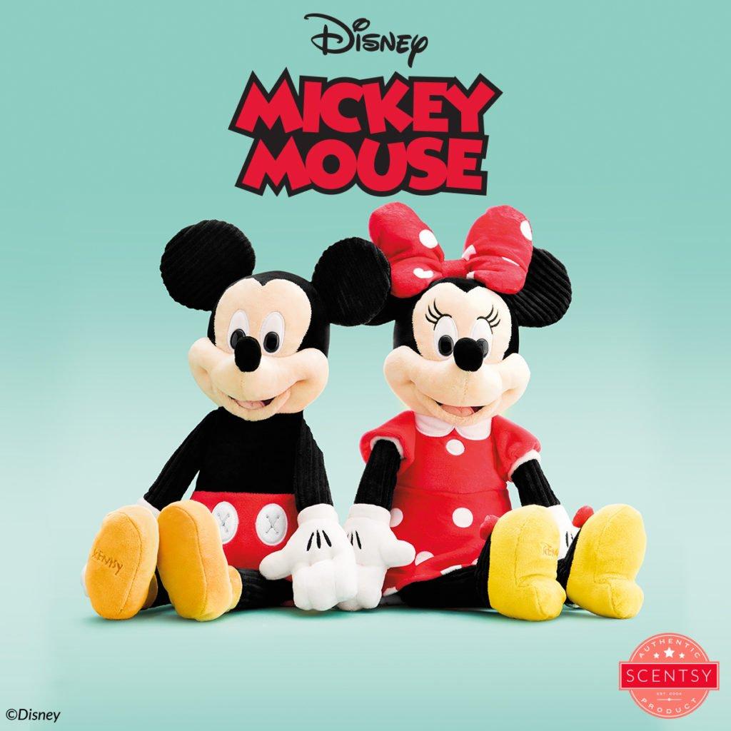 Mickey and Minnie Scentsy Buddies