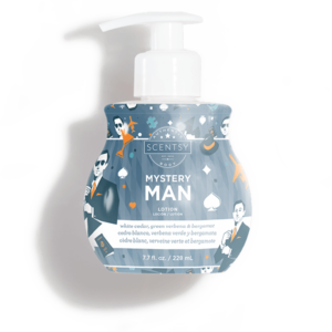 Mystery Man Scentsy Lotion