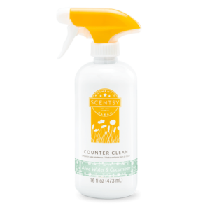 Aloe Water and Cucumber Scentsy Counter Cleaner