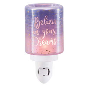 Believe Purple Scentsy Mini Warmer