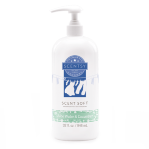 Aloe Water and Cucumber Scentsy Fabric Softener