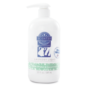 Aloe Water and Cucumber Scentsy Laundry Detergent Liquid