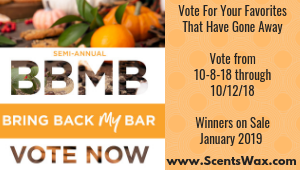 Scentsy BBMB Fall 2018