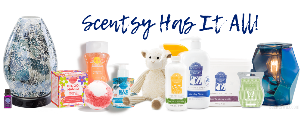 what all does scentsy sell