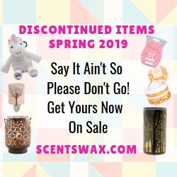 Discontinued Scentsy Spring 2019