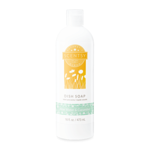 Scentsy Dish Kitchen Soap Aloe Water and Cucumber