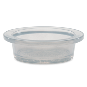 Scentsy Fluted Gray Grey Dish
