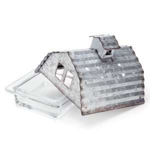 Scentsy Tin Barn Dish Country Living