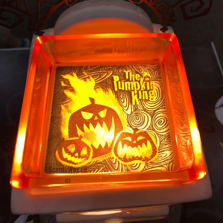 Pumpkin King Scentsy Dish