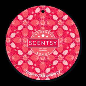 Scentsy Sugared Strawberry Scent Circle
