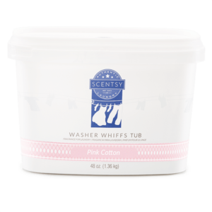 Scentsy Pink Cotton Washer Whiffs Tub