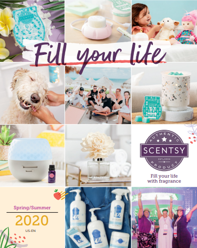 Scentsy 2020 Spring Summer Catalog