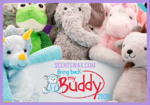 Scentsy Bring Back My Buddy 2020 Stuffed animals