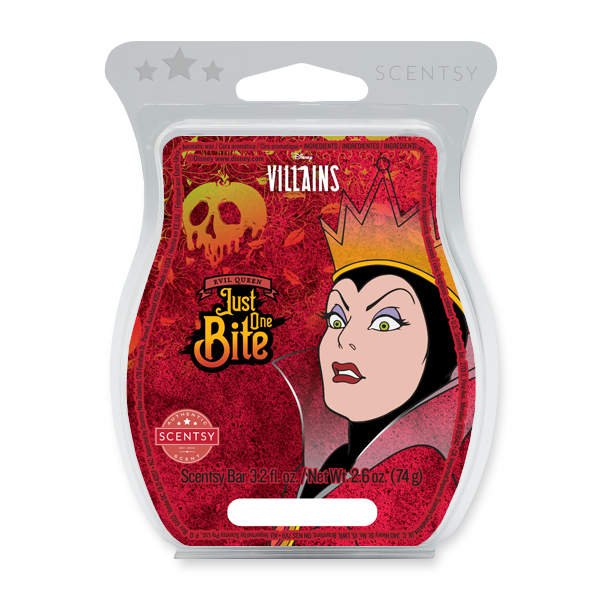 Scentsy Disney Villains Evil Queen Just One Bite Bar