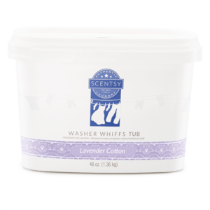 Scentsy Lavender Cotton Washer Whiffs Tub