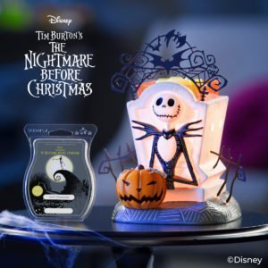 Jack Skellington Scentsy Burner