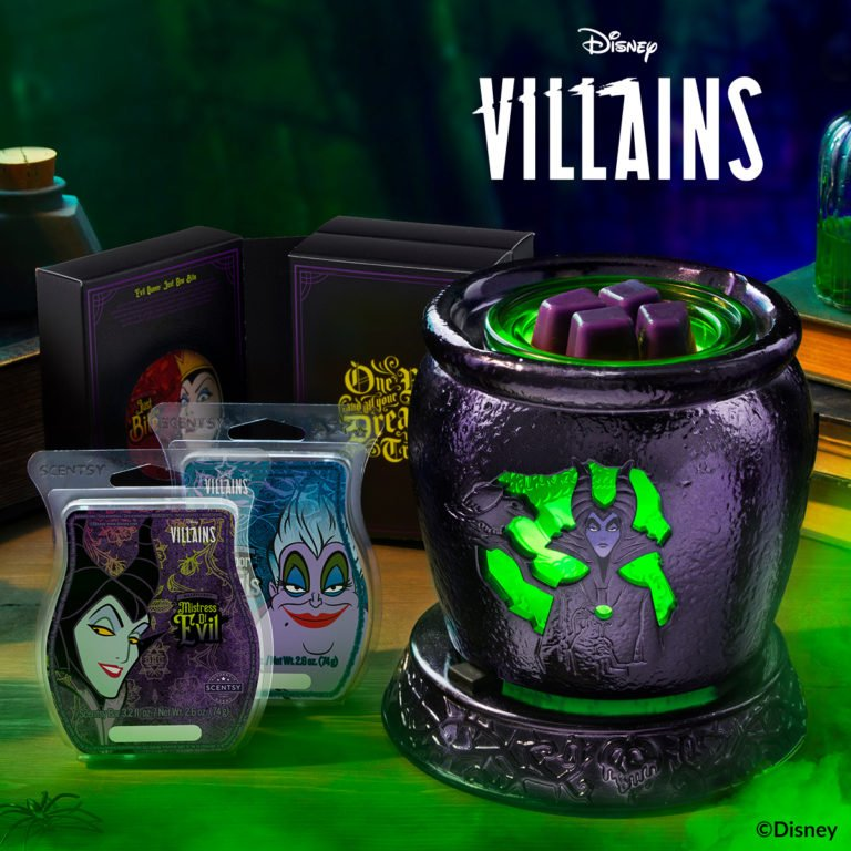 Scentsy Disney Villains Warmer