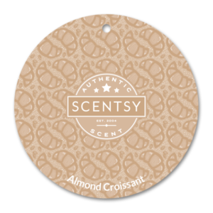 Scentsy Almond Croissant Scent Circle