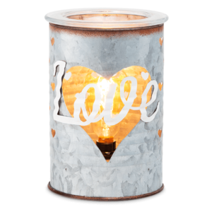 Sweet Love Tin Scentsy Warmer