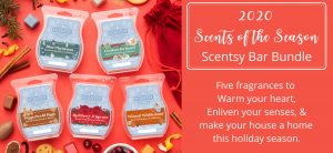 Scentsy 2020 Scents of the Season Christmas Wax bundle