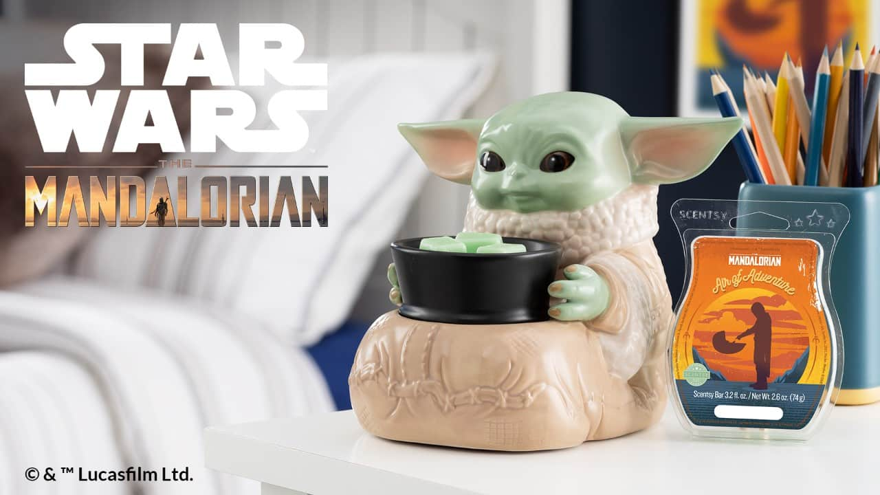 BABY YODA THE CHILD - SCENTSY WARMER - STAR WARS
