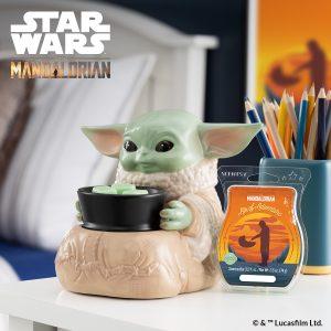 Baby Yoda Scentsy Warmer