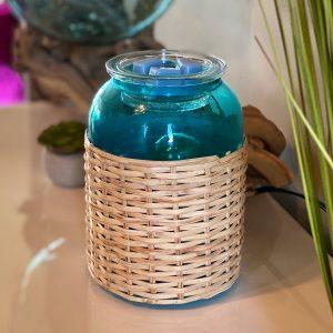 Carolina Coast Blue Basket Scentsy Warmer