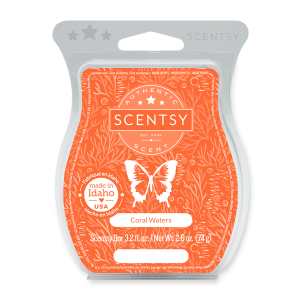 Scentsy Coral Waters Wax Melts