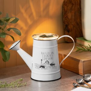 Scentsy White Watering Can Country Sunshine Warmer