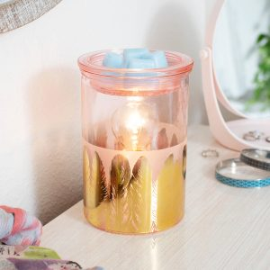 Scentsy Gold Feathers Warmer