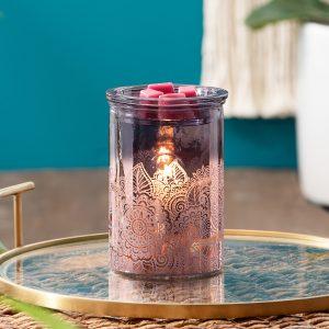 Happy Henna Purple Mandala Warmer