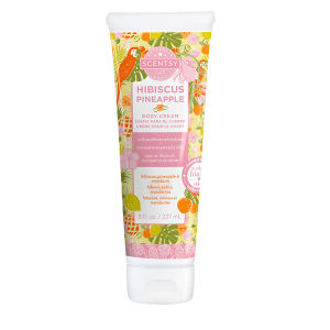 Hibiscus Pineapple Scentsy Body Cream