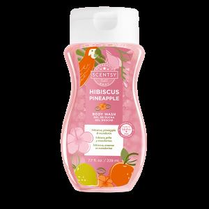 Scentsy Hibiscus Pineapple Body Wash