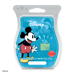 Oh Boy! Scentsy Mickey Mouse Wax Melt