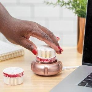Scentsy Rose Gold Mini Fan Diffuser
