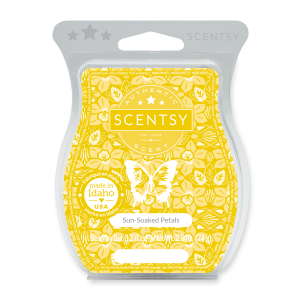 Sun Soaked Petals Scentsy Wax Melt