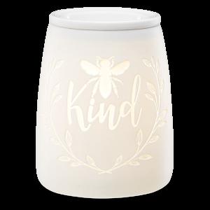 Scentsy White Bee Burner