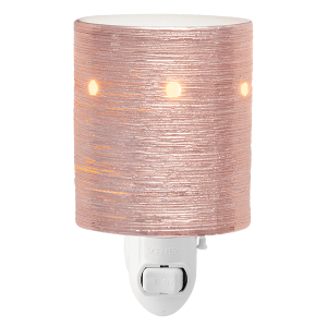 Etched Core Rose Gold Scentsy Mini Warmer Plugin