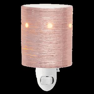 Etched Core Rose Gold Scentsy Mini Warmer Plugin
