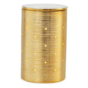 Scentsy Etched Core Gold Burner
