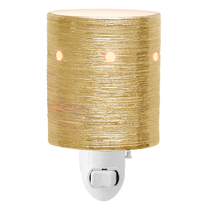 Etched Core Gold Scentsy Mini Warmer