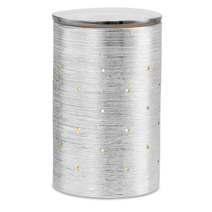Scentsy Etched Core Silver Burner