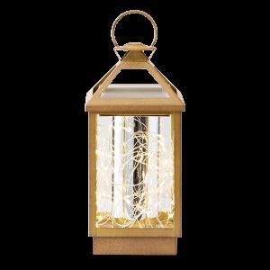 Scentsy Gold Lantern Warmer