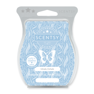 Inhale Exhale Scentsy Wax Bar