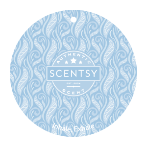 Inhale Exhale Scentsy Scent Circle Car Air Freshener