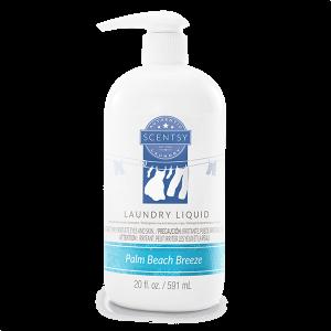 Palm Beach Breeze Scentsy Laundry Detergent